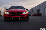 Photoshoot Matte Red BMW M4 Is A Thing Of Beauty 7