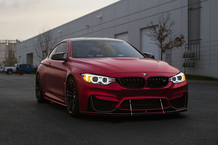 Photoshoot This Matte Red BMW M4 Is A Thing Of Beauty 1